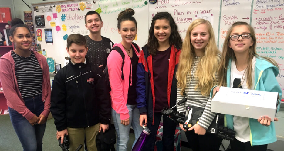 NEWAGE INDUSTRIES HOSTS PHILADELPHIA REGION VIDEO CONTEST STUDENTS