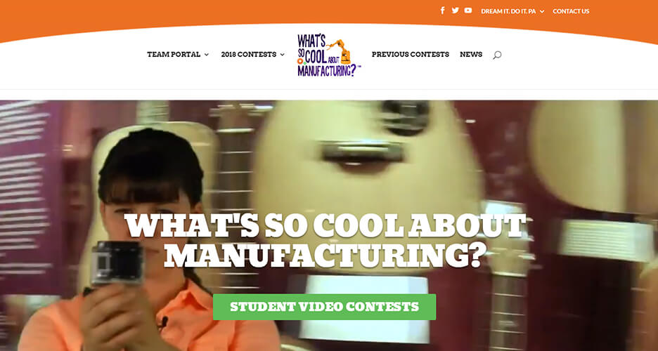 WHAT'S SO COOL VIDEO CONTESTS ADOPT NEW DIGITAL PLATFORM